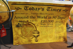 Phileas Fogg Win A Wager Day