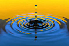 A Drop of Water Is a Grain of Gold