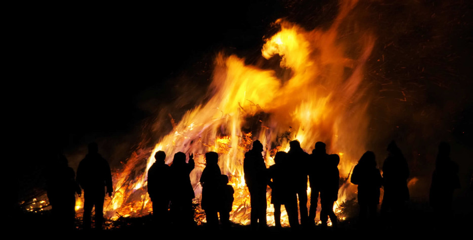 In parts of Northern  and Eastern Europe, the Mass of Saint Walburga or Walpurgis Night is celebrated  on the evening of April 30th.