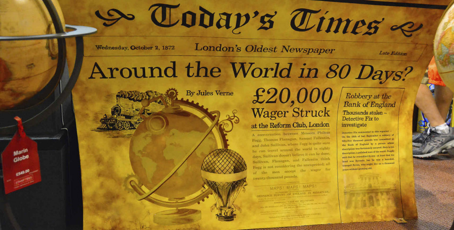 Phileas Fogg Win A Wager Day in USA in 2021