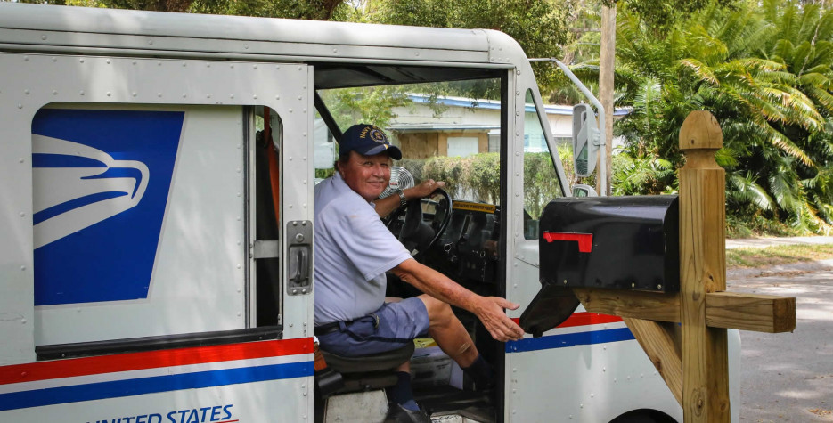 National Postal Worker Day in USA in 2021