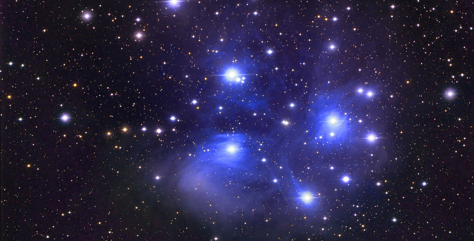 Matariki is named after the bright stars of the Pleiades star cluster, which rises in the winter night sky each year.