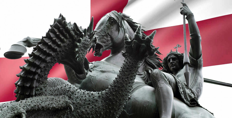 St. George's Day in United Kingdom in 2022