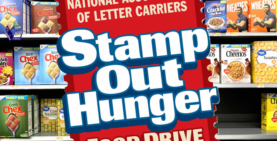 Stamp Out Hunger Food Drive Day in USA in 2022