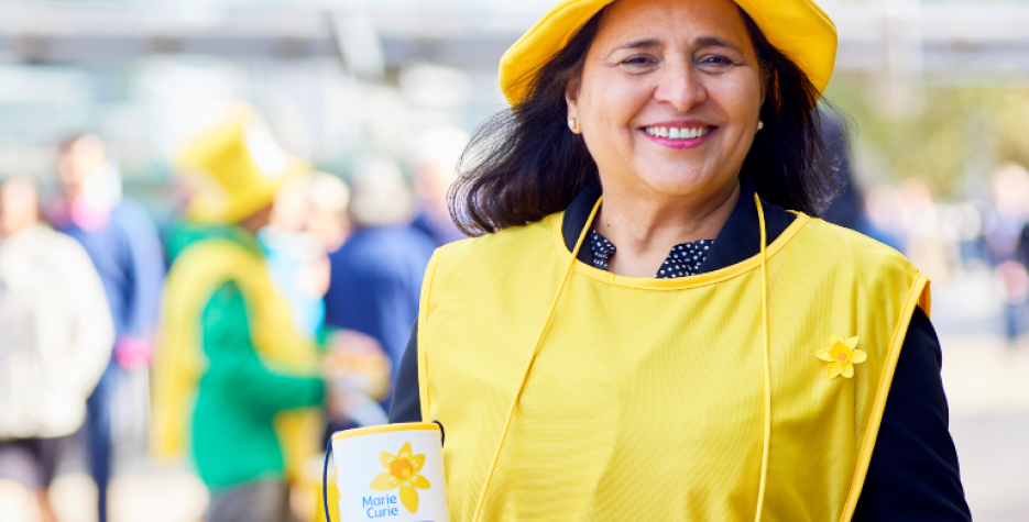 Marie Curie GreatDaffodil Appeal in United Kingdom in 2022