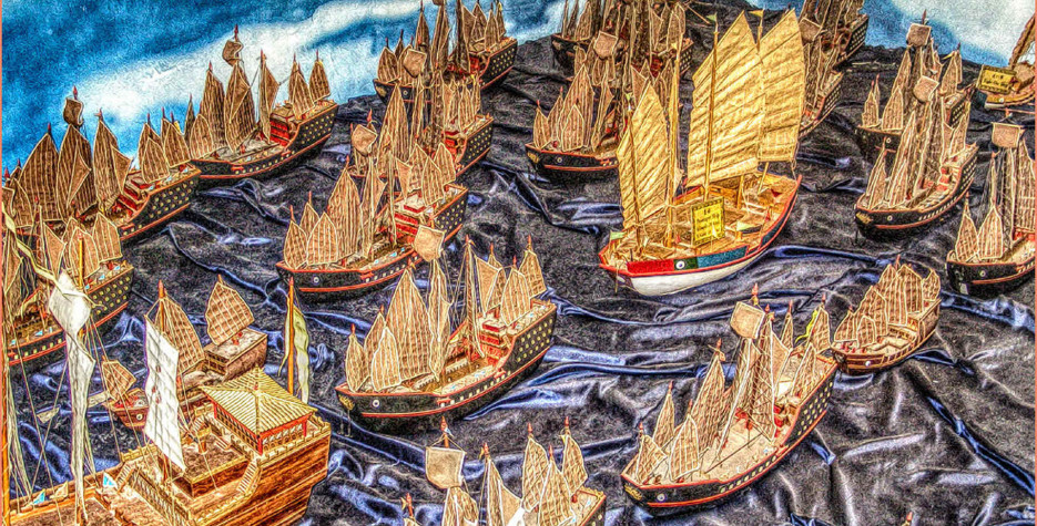 Marking the day in 1405 when Ming Dynasty navigator 'Zheng He' started his seven voyages.