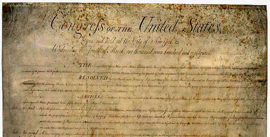 Bill of Rights Day in USA in 2021