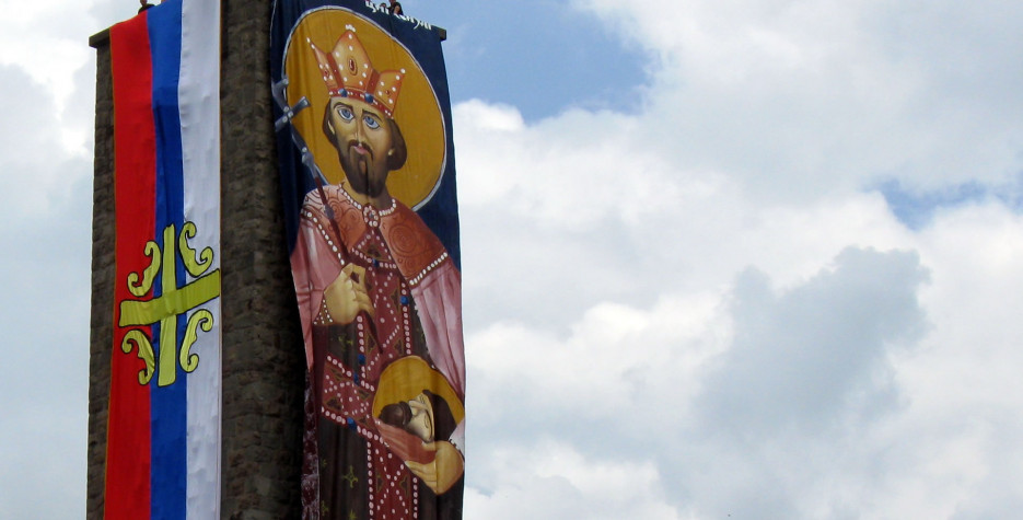 Remembrance of the Battle of Kosovo in 1389. St Vitus's feast day is 15 June in the Julian calendar.